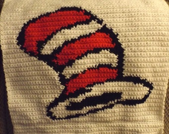 Dr Seuss Hat Crochet Graph