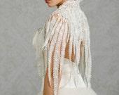 Poppy | Venice lace wedding bolero cape