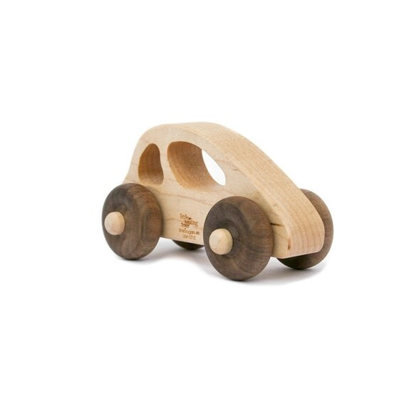 Wooden Toy Car, personalized toddler kids car