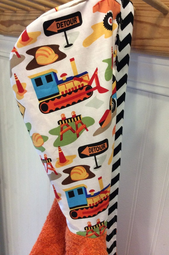 1-Child-Robes-Custom Order--LISA-TRUCK-Boys-Robes-Sleepwear-Terry-Hooded-Towels-Holidays-Kids-Sizes