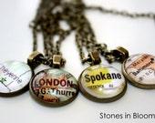 Necklace - Choose your City Necklace