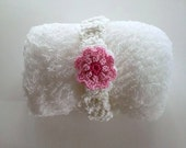 White Cheesecloth, Headband