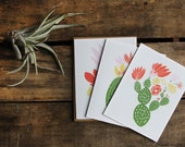 Cactus Card Set