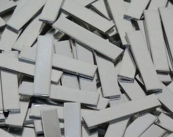 Pewter Stamping Blanks -  Tags - 18 Gauge, Bopper, metal blanks, stamping bars, rectangular blanks, stamping strips, stamping plates