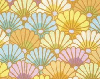 Kaffe Fassett Thousand Flowers Yellow Fabric 1 yard