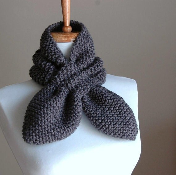 Knitting Pattern For Pull Through Scarf : KNITTING PATTERN - Stay Put Scarf II - Pull Through ...