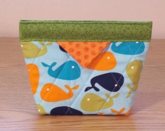 Quilted Snap Bag (SB012)