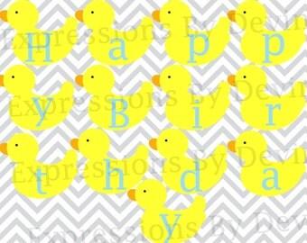 Duck Banner Etsy
