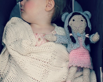 Download Now - CROCHET PATTERN Little Doll Amigurumi - PDF