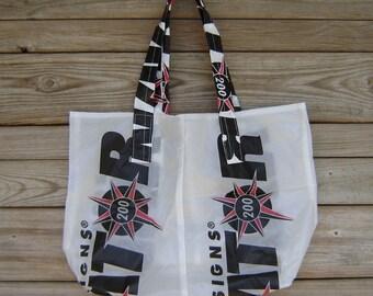 Nylon Ripstop Parachute Market Bag Navigator 200 Parachute Logo