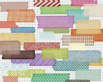 wishi washi tape - for digital scrapbooking