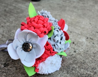 "9 Stem ""Felt so Pretty Bouquet"" Felt Flower Bouquet"