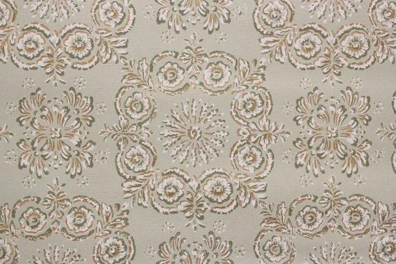 1950s vintage wallpaper white - photo #2