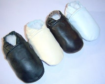 genuine leather baby shoes , chrome free baby shoes ,brown shoes, white shoes ,cream black leather, baby girl baby boy shoes, soft sole shoe