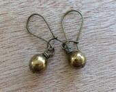 E581 Bronze Earrings