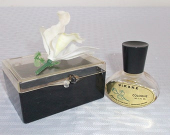 1960s Vintage Liana of Waikiki Pikake Perfume Cologne Bottle
