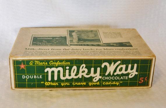 vintage candy bar boxes eBay