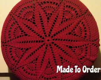 Starburst Crochet Spare Tire Cover