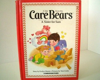 Vintage Care Bears Book: A Sister for Sam
