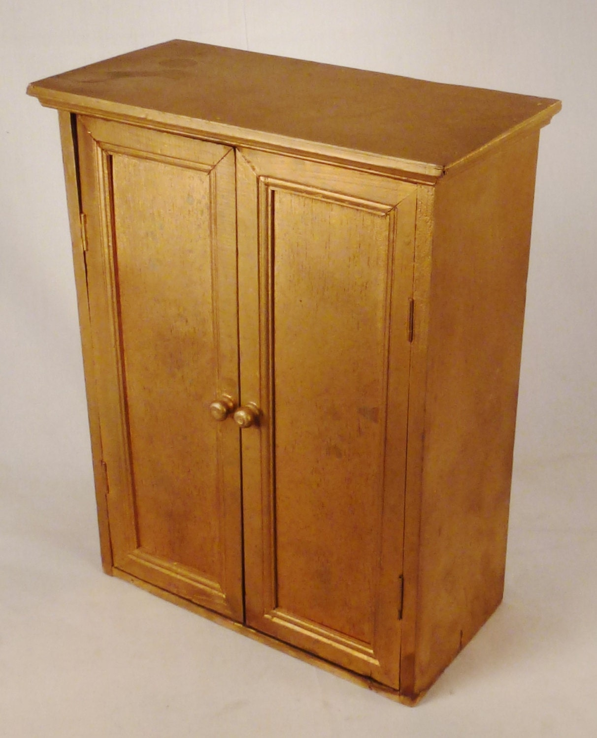 wooden armoire for dolls kashiori