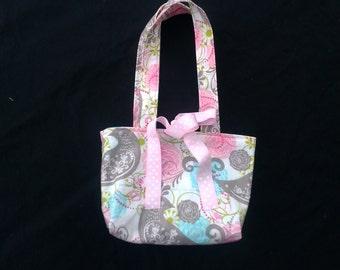 Girls Purse - Childrens Purse - Handbag - Party Favor - Reversible Purse - Groovy Gurlz