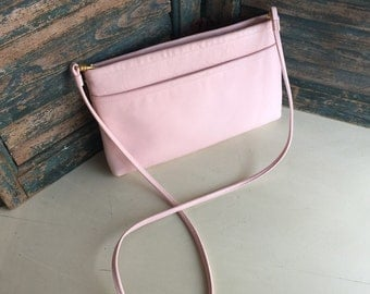 Cute Pink Nordstrom 80s Clutch With Strap