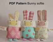 PDF Pattern Bunny softie