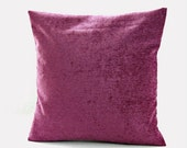 accent cushion cover, mauve decorative pillow cover 16 inch