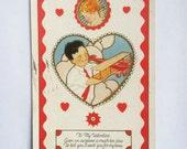 Vintage 1920s Valentine Postcard