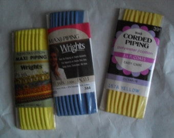 Piping Sewing Supplies NOS