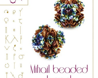 Mihail- beaded beads -PDF instruction for personal use only