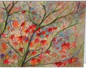 PreranaKulkarniArt - Set of 10 Fine Art Note Cards, Reproduced from my Watercolor Paintings