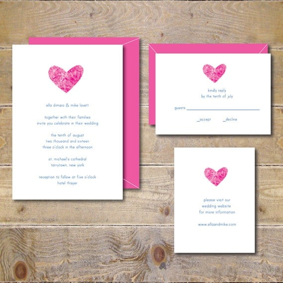 Printable Watercolor Wedding Invitations DIY Wedding