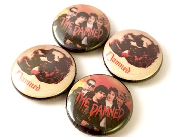 Damned 1inch Pinback Buttons or Magnets
