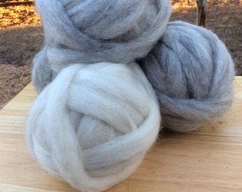 Icelandic Wool Roving 4 oz balls