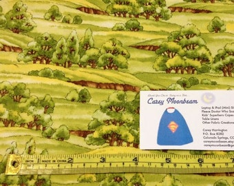 Just Cruisin' Tree Meadow Fabric - by the yard