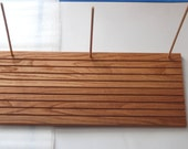 """Quilting Ruler Guide Rack Solid Oak - 22"""" x 9"""" - 16016"""