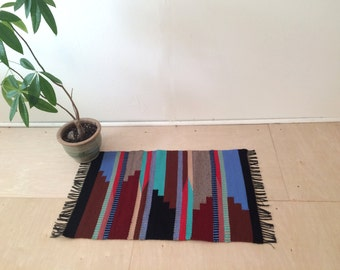 Hand Woven Wool Rug: The Timberline