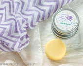 Solid Lotion Bar in tin. Lotion Bar in your Choice of Scents.