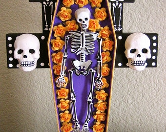 Day of the Dead SANTA MUERTE Original Photo-  Perfect picture to add to your shrine