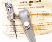 Vintage Alpex Self Timer -Free Shipping