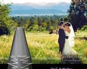 Short Wedding Veil, Radiance Veil, 2-Tier Bridal Veil, Bias-Bound Edge Veil, Waist Elbow Veil, Made-to-Order Veil, Handmade Veil