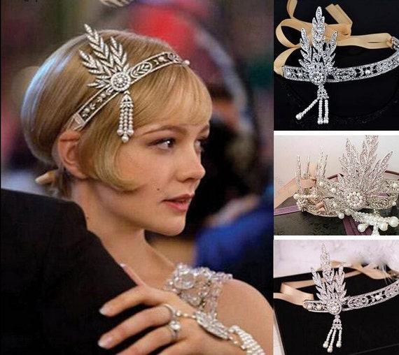 Wedding Hair Accessories Uk Seller Great Gatsby Headband