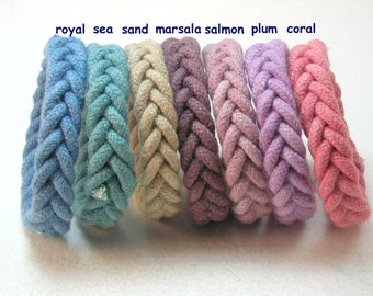 slender herringbone rope bracelets knot bracelets friendship wristbands made from hand dyed cotton cord 3499