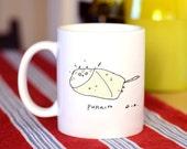 Cat Mug - Purrito Cat - Funny Cat Mug - Cat Dad Gift - Cat Gift- On Sale