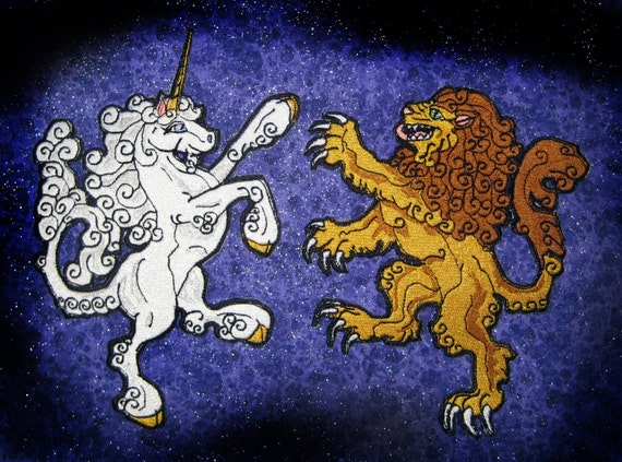heraldry and unicorn represent Heraldry is the art and science of the use of seven-pointed stars to represent the faith of and the unicorn and maze device on that house's arms to be.