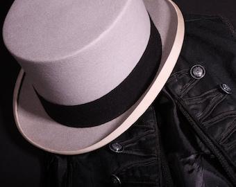 Dapper Top Hat from Lock & Co. Hatters, London (Rare Gray Felt)
