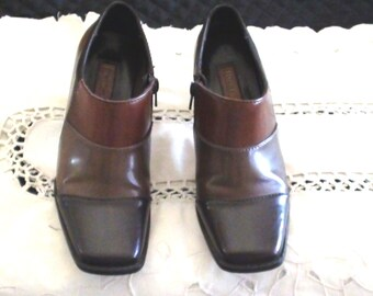 Vintage Highlights 1990s Retired Design   Women's  Shoes Size 5 1/2USA   EURO 36 Uk 3.5 Ankle Boots  On SaLe Now