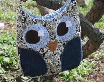 owl bag/tote