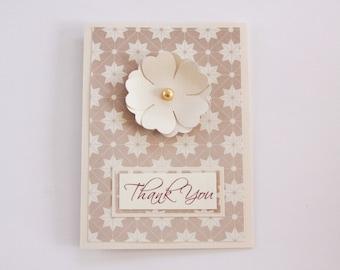 Art Deco Greeting Card, Art Deco Thank You Card